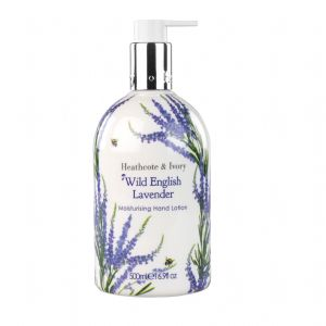 Wild English Lavender Moisturising Hand Lotion 500ml Heathcote & Ivory